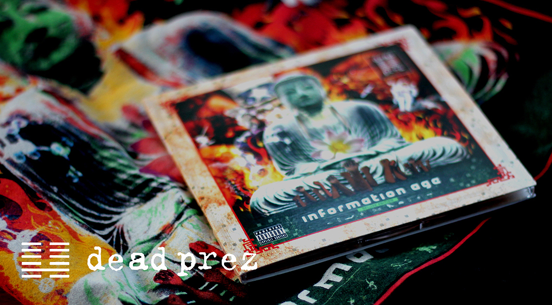 Dead Prez - CD Cover and Merchandise design by K S Ruprai